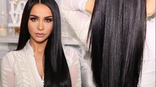 Download HOW TO: SLEEK & SHINY STRAIGHT HAIR | Carli Bybel Video