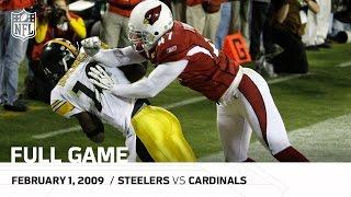 Download Super Bowl XLIII: Pittsburgh Steelers vs. Arizona Cardinals   NFL Full Game Video
