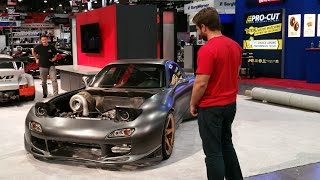 Download Unveiling the World's first AWD 4 rotor RX-7 Video