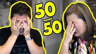 Download Reddit 50/50 CHALLENGE #4 (feat. MY MOM) Video