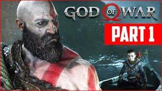 Download GOD OF WAR PS4 WALKTHROUGH, PART 1!! (God of War PS4 Gameplay) Video