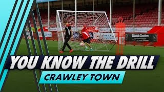 Download Bullard falls into the net! 😂 | You Know The Drill - Crawley Town with Jimmy Smith Video