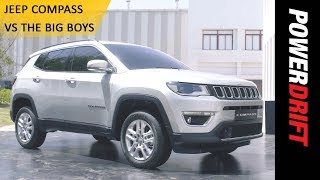 Download Jeep Compass vs The Big Boys : PowerDrift Video