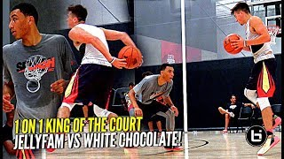 Download Jordan McCabe vs Jahvon Quinerly 1 on 1 King of The Court COOKOUT!! Ant Simons & Chris Herren Too! Video