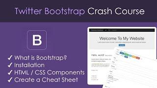 Download Bootstrap Beginner Crash Course Video