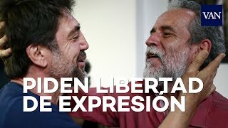 Download Javier Bardem y Willy Toledo juntos por la libertad de expresión Video