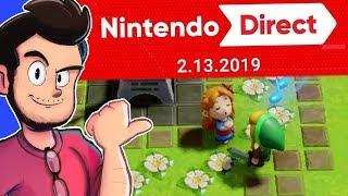 Download Reacting To 2.13.19 Nintendo Direct! - AntDude Video