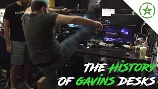 Download The History of Gavin Free's Desks Video