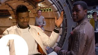Download ″Daisy Thinks I'm Adorable.″ John Boyega on Star Wars Hugs, Nicknames and Life as Finn Video