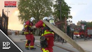 Download Video dokumentiert Einsatz an Notre-Dame Video