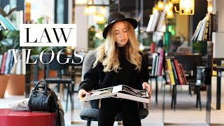 Download LAW SCHOOL VLOG #23 | Philosophy Lecture & Library Study Session Video