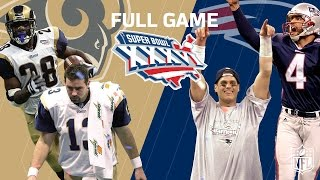 "Download Super Bowl XXXVI: ""Patriots Dynasty Begins"" 