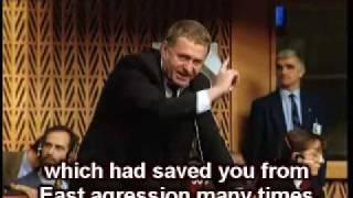 Download Zhirinovsky in European Council (ENG subtitles) Video