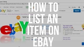 Download How To List On eBay. Detailed Step By Step Tutorial For Beginners Video