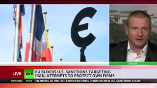 Download Just Business: EU blocking US sanctions against Iran to protect European companies Video