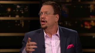 Download Penn Jillette on Libertarianism   Real Time with Bill Maher (HBO) Video