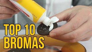 Download TOP 10 BROMAS 2016 - Bromas para hacer a tus amigos (Recopilación) Video