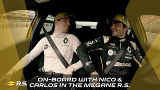 Download On-board with Nico & Carlos in the Mégane R.S. Video