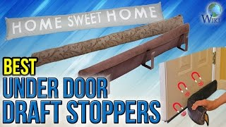 Download 8 Best Under Door Draft Stoppers 2017 Video