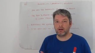 Download Opportunity, possibility, occasion. Aprende inglés con Marcos (67) Video