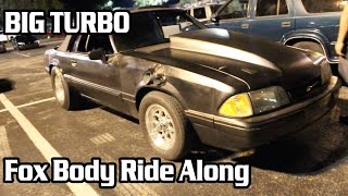 Download INSANE TURBO Foxbody Ride Along! Video