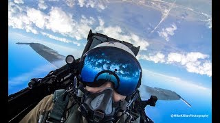 Download F-18 Tac Demo COCKPIT VIEW + LEGACY FORMATION / 2017 TICO Air Show Video