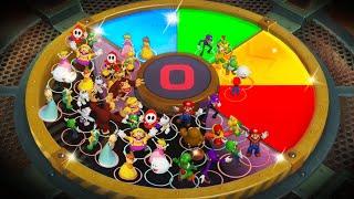 Download Super Mario Party MiniGames - Mario Vs Yoshi Vs Bowser Vs Bowser Jr (Master Difficulty) Video