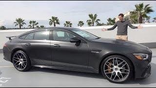 Download The Mercedes-AMG GT 4-Door Is a $175,000 Super Sedan Video