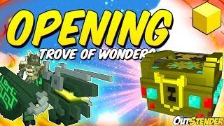 Download TROVE ►Открываем 100 Trove of Wonders ◄ Открытие на 1,000,000 FLUX! Fortras?!?!! Тров[#OutStender] Video