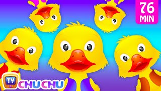Download Five Little Ducks and Many More Numbers Songs | Number Nursery Rhymes Collection by ChuChu TV Video