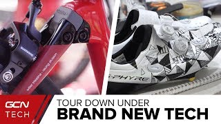 Download New Helmets, Custom Shoes & Concept Bikes | The Latest Pro Cycling Tech At The Tour Down Under Video