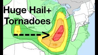 Download Major Severe Weather Outbreak - Huge Hail+Tornadoes Video