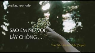 Download Sao em nỡ vội lấy chồng - Hà Anh Tuấn Video