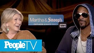 Download Martha Stewart & Snoop Dogg Reveal Weirdest Cravings, Dinner Party Fails & Much More | PeopleTV Video