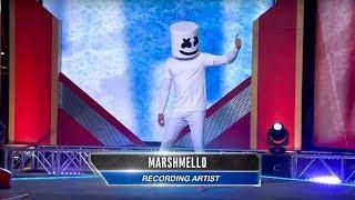 Download Marshmello vs. American Ninja Warrior - Will Mello Prevail? Video