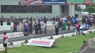 Download Guy Blows Transmission on 1/8 Mile Drag Strip Video