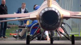 Download R/C Jet USAF Lockheed Martin F-16 R.Thoma Swiss Championship 2014 Interlaken Video
