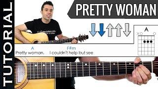 Download Como Tocar Pretty Woman en guitarra fácil melodía y acordes tutorial y clase Video