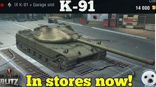 Download Wotb: K-91 | In stores now! Video