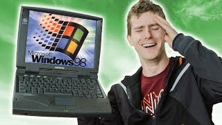 Download Gaming on a 25 YEAR OLD Laptop!! Video