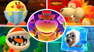 Download Yoshi's Woolly World - All Bosses (No Damage) Video