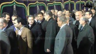 Download محمود طاهر يخترق طابور المعزين لمصافحة مرتضى منصور Video