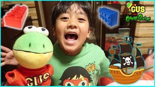 Download Legoland Hotel Tour and Opening Secret Treasure Chest with Ryan and Gus!!! Video