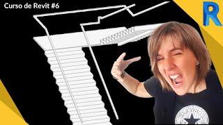 Download 🔴 Cómo hacer escaleras en Revit 2019 🔴Por componente + por boceto + Metálicas |Curso Revit 6 Video