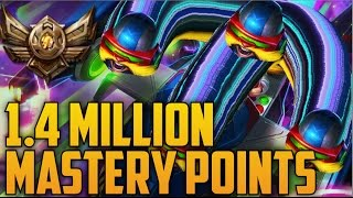 Download Bronze CORKI 1,400,000 MASTERY POINTS- Spectate Highest Mastery Points on Corki Video