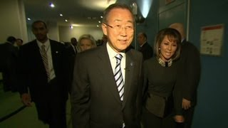 Download Behind the scenes with Ban Ki-moon Video