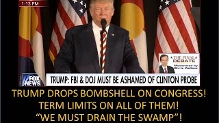 Download Trump Just Dropped A Nuclear Bomb On Congress! We Have To Drain The Swamp! Video