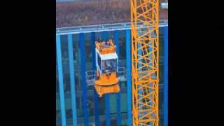 Download Montage d'une grue à tour Liebherr 280 ECH Video