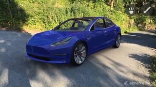 Download Tesla Model3 in AR - Apple ARKit Video