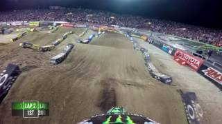 Download GoPro: Adam Cianciarulo Main Event 2017 Monster Energy Supercross from Las vegas Video
